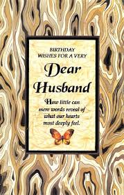 birthday cards to husband