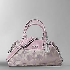coach bag pink