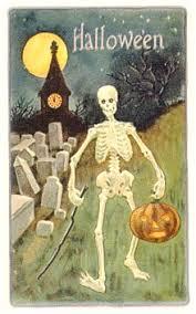 halloween skeletons