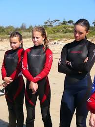 girls wet suits
