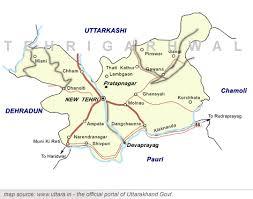 tehri map