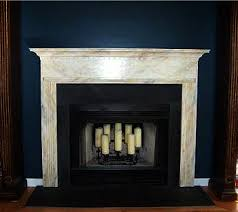 faux mantle