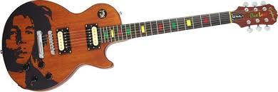 bob marley signature guitar