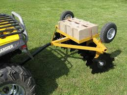 lawn tractors attachments