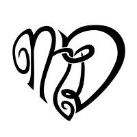 heart shaped tattoo designs