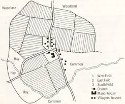 medieval village layout