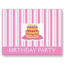party invitations for girls