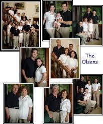 posing family portraits