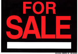 for sales signs