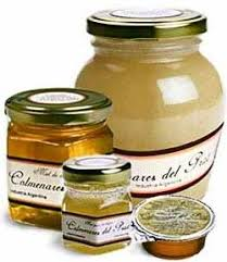 frasco de miel