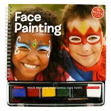 face paint book