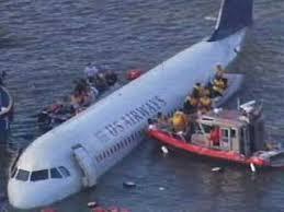 hudson river airplane