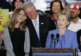 hillary clinton family