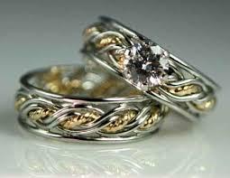 braided engagement ring