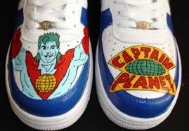 captain planet shoes