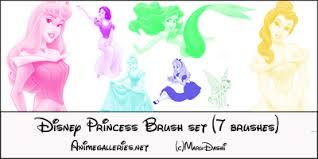 disney brushes