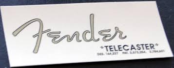 fender telecaster decals