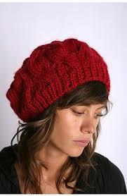 chunky beret