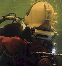 diving welding