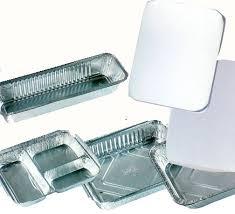 aluminum food trays