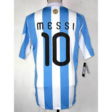 argentina soccer uniform