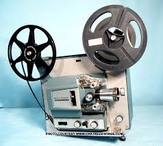 8mm video projector