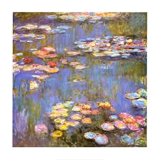 claude monet water lilies 1916