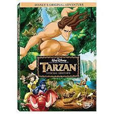 tarzan dvd disney