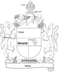 english family coat of arms