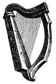 irish harp images