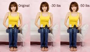 look thinner