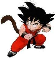 dragonball z kid goku