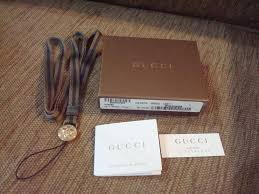 gucci cell phone straps