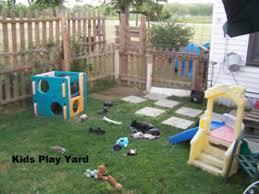 kids play yard