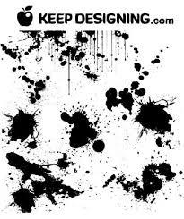 paint splat font