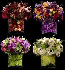 arrangements of flowers