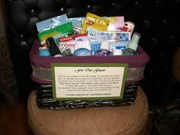 bathroom baskets for weddings