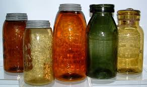 antique fruit jars