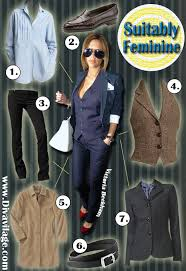 menswear for women