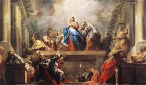 A hymn for Pentecost.