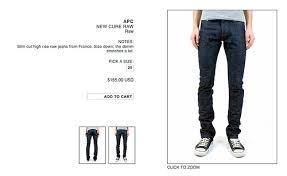 apc cure jeans