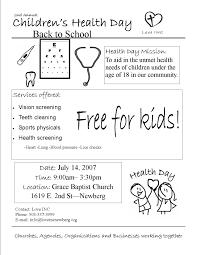 babysitting flyer example