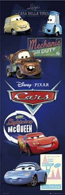 movie cars characters