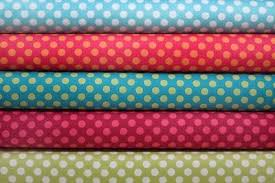 dotted fabric