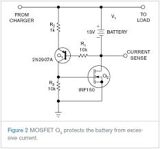 mosfet circuit diagram