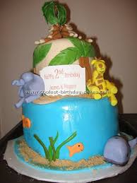 safari theme cakes