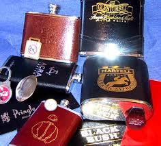 flasks leather