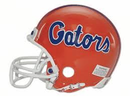 gator football helmets