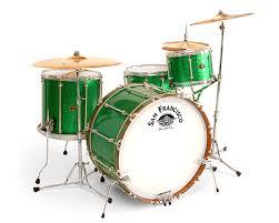 green drum set