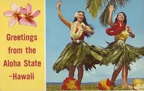 hawaiian postcards